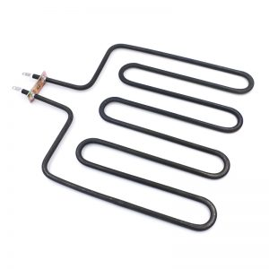 Tubular heater for oven