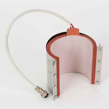 Flexible heating element silicon heater for mug
