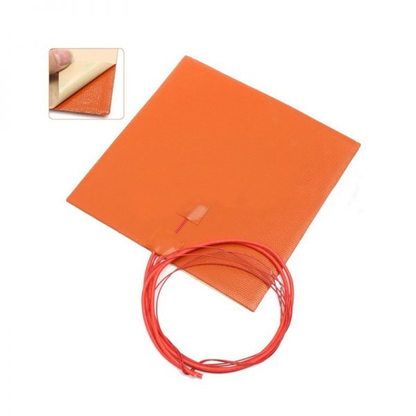 Silicone heating bed for 3D printer