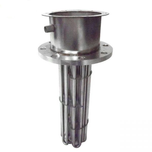 Industrial explosion proof immersion heater