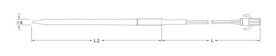 SW404 NCT Water Heat Sensor Drawing