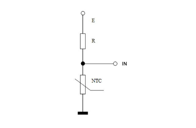 Testing liquid level with NTC thermistor - 1