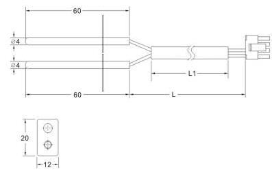 Temperature Sensor Customized Case - 1